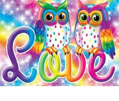 Animated Owls Set - 5d Diamond Painting Kit