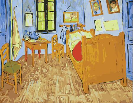 Van Gogh Room - Paint By Numbers Kits