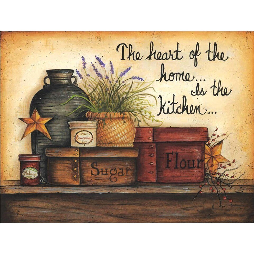 The Heart Of The Home - 5d Diamond Painting Kit