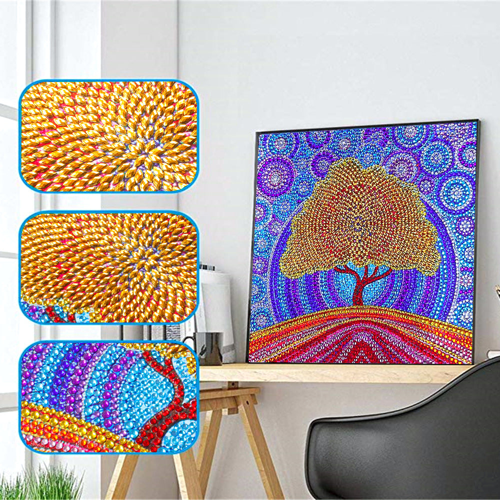 Mosaic Tree - 5d Diamond Painting Kit