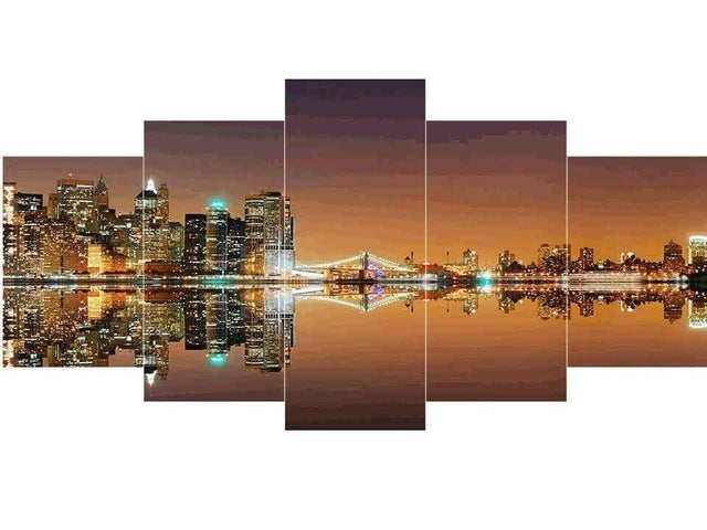 Different City Landscapes - 5d Diamond Painting Kit