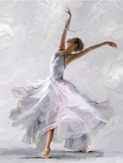 Ballerina Series 8 - Painting By Numbers