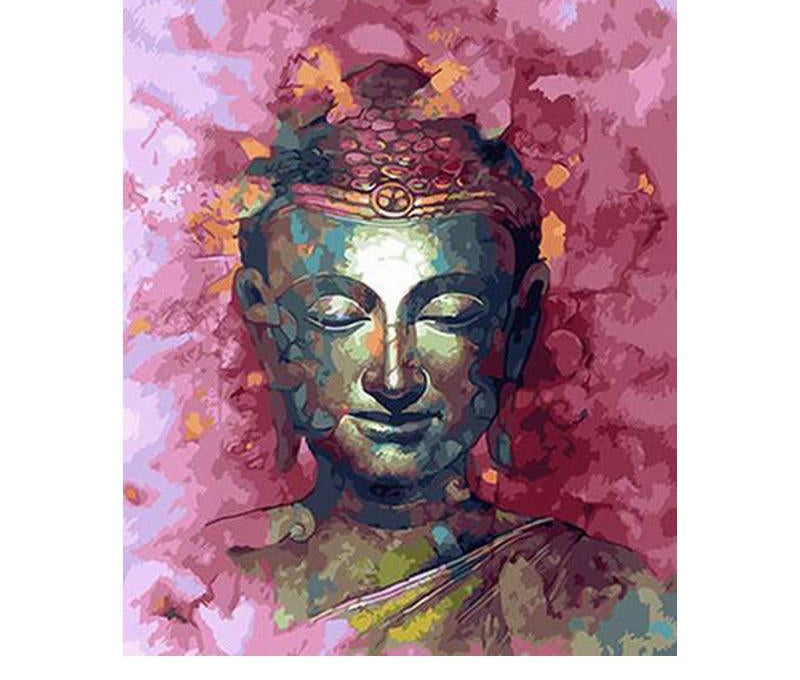 Purple Buddha - Paint By Numbers Kit