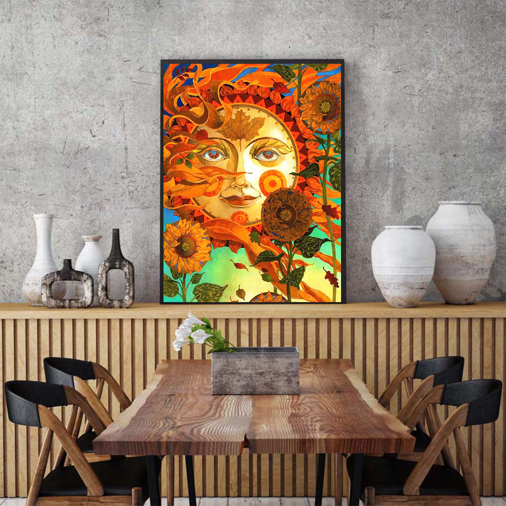 Animated Sun Set - 5d Diamond Painting Kit