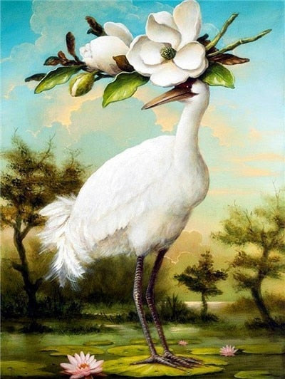 Animated Birds And Nature - 5d Diamond Painting Kit