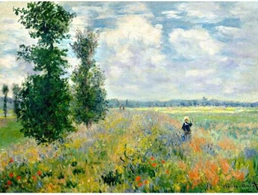 Claude Monet - Poppy Fields - Paint by Numbers Kits for Adults