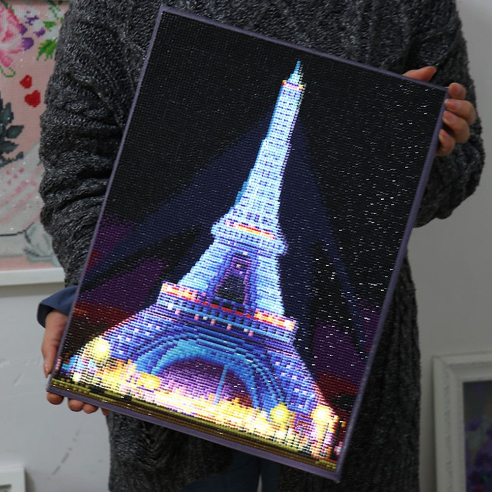 Eiffel Tower - 5d Diamond Painting Kit