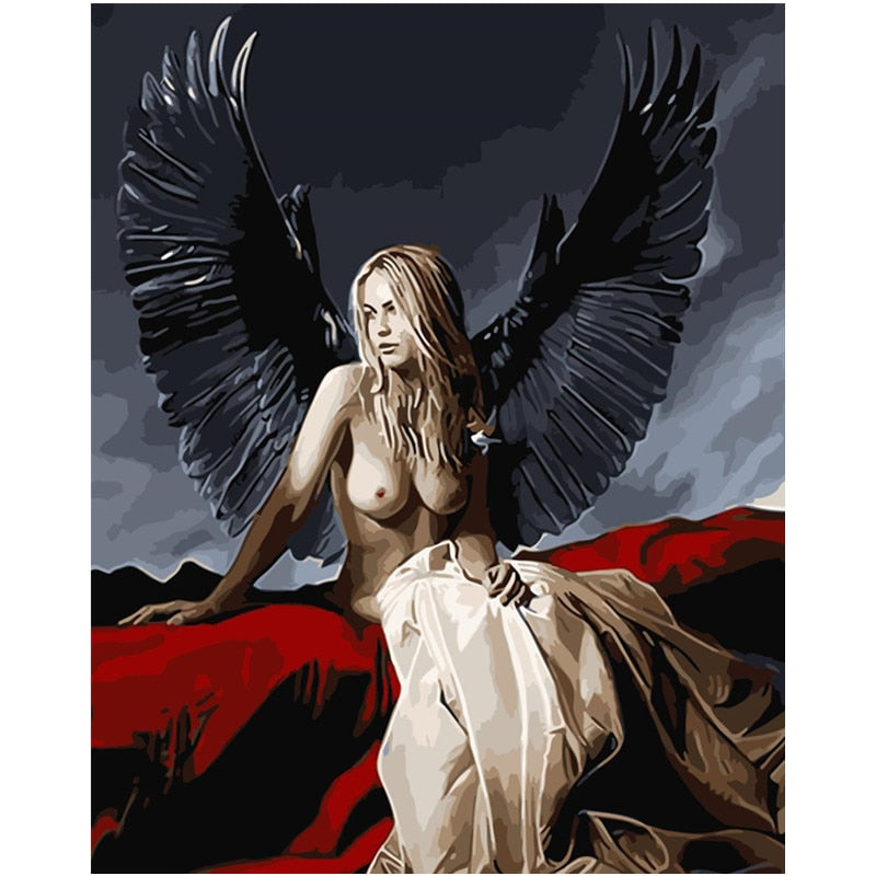 Naked Angel - Paint By Numbers Kit