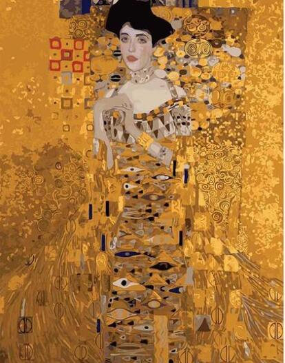 Gustav Klimt Adele Bloch-Bauer - Paint by Numbers Kits for Adults