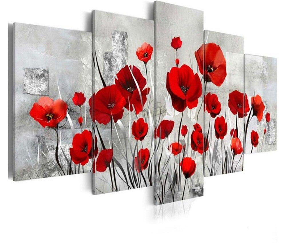Multi Flower - 5d Diamond Painting Kit