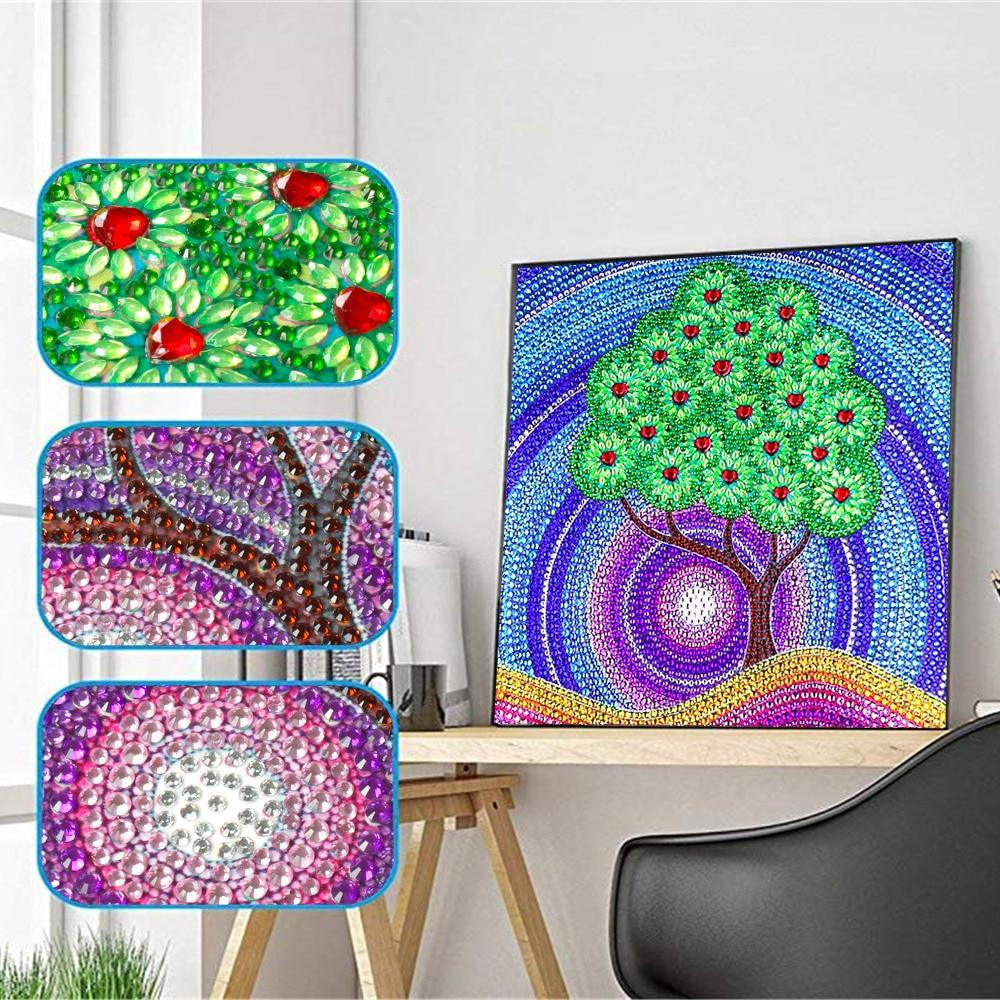 Special Shape Mosaic Tree - 5d Diamond Painting Kit