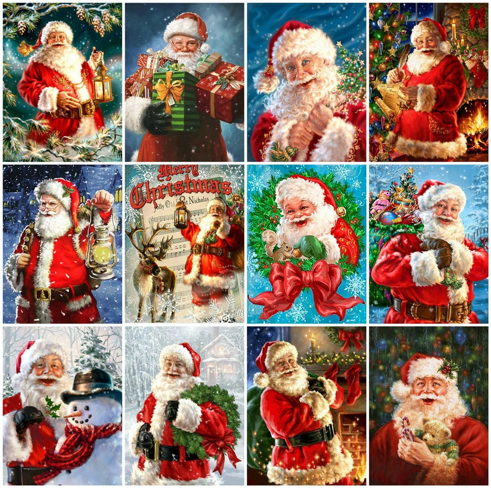 Santa Claus Set - 5d Diamond Painting Kit