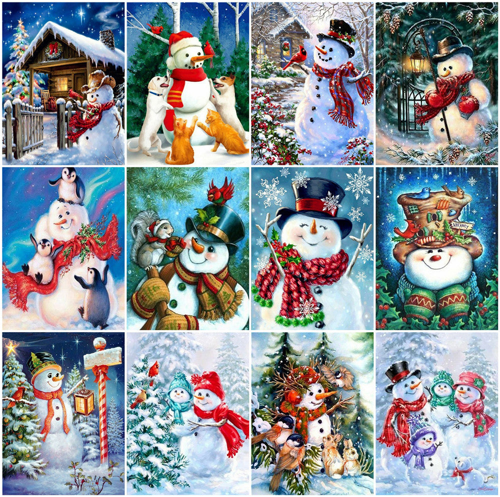 Christmas Set - 5d Diamond Painting Kit