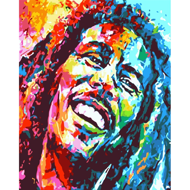 Bob Marley - Paint By Numbers Kit