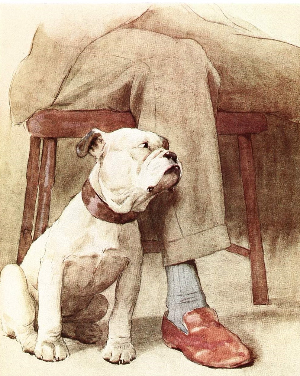 Loyal Bulldog - Paint By Numbers Kits
