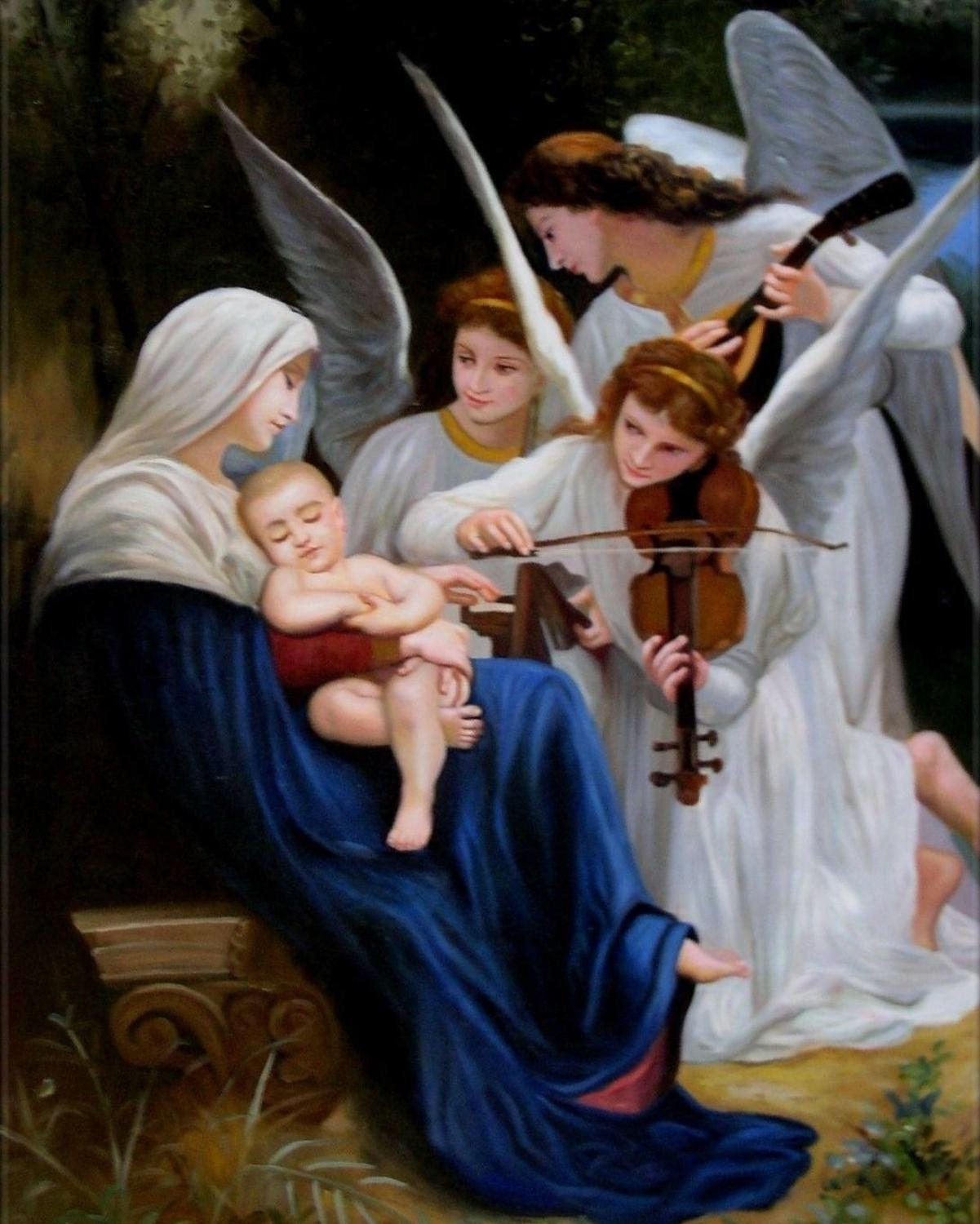 Baby Jesus - Paint By Numbers Kits