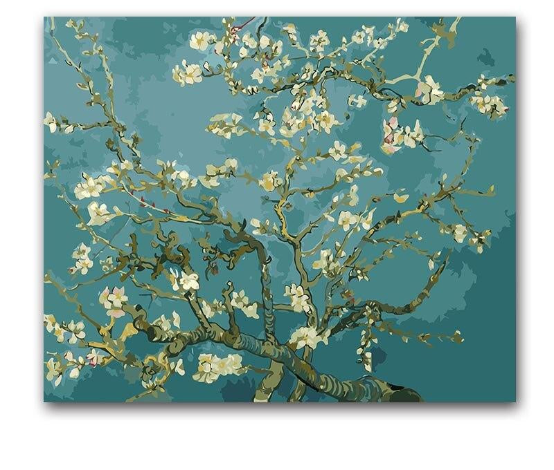 Van Gogh Blossom Tree - Paint By Numbers Kits