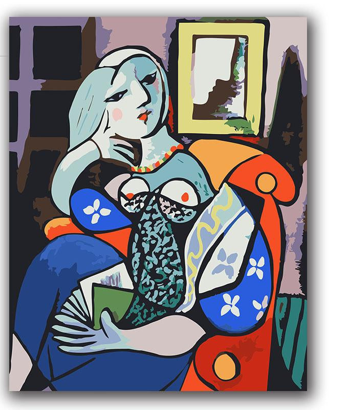 Picasso Masterpiece - Paint by Numbers Kits
