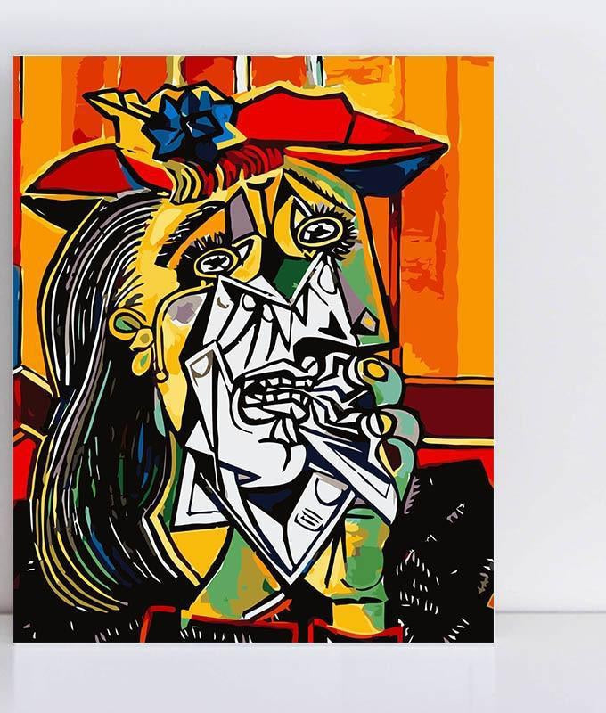 Picasso Crying Woman - Paint by Numbers Kit