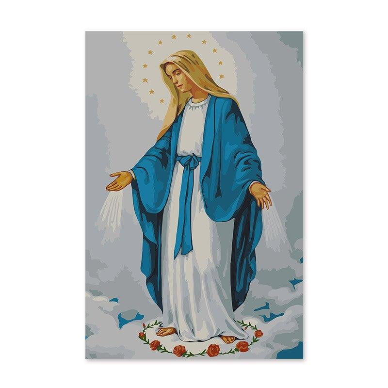 The Virgin Mary - Paint by Numbers Kit
