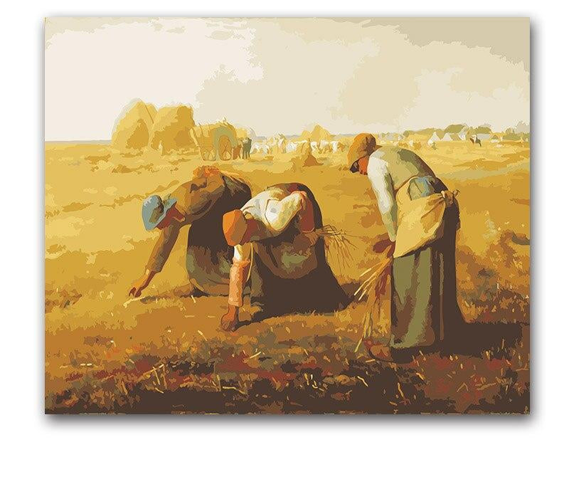 Millet The Gleaners - Paint by Numbers Kit