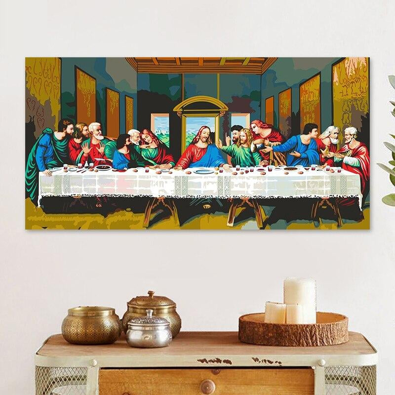 The Last Supper - Paint by Numbers Kit