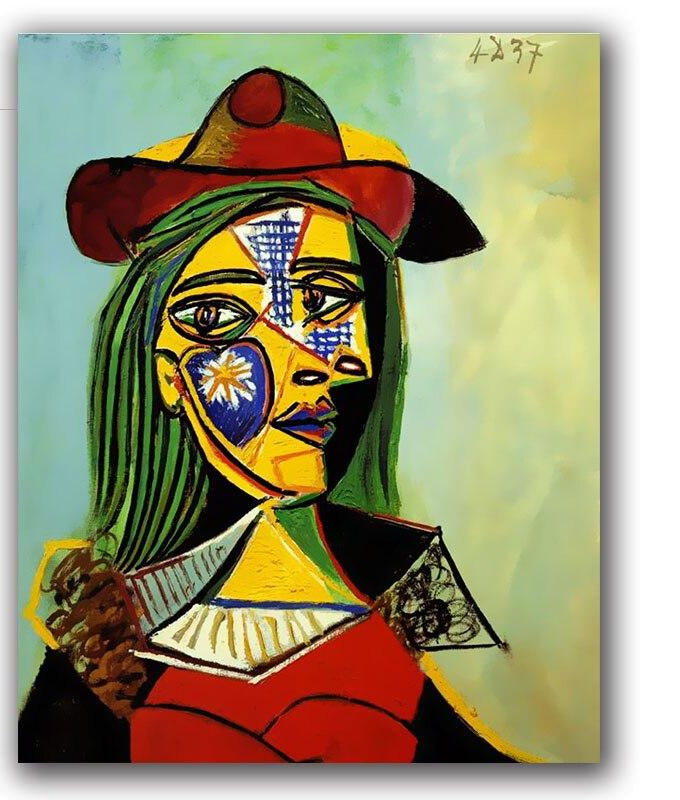 Picasso's Abstract Painting - Paint by Numbers Kit