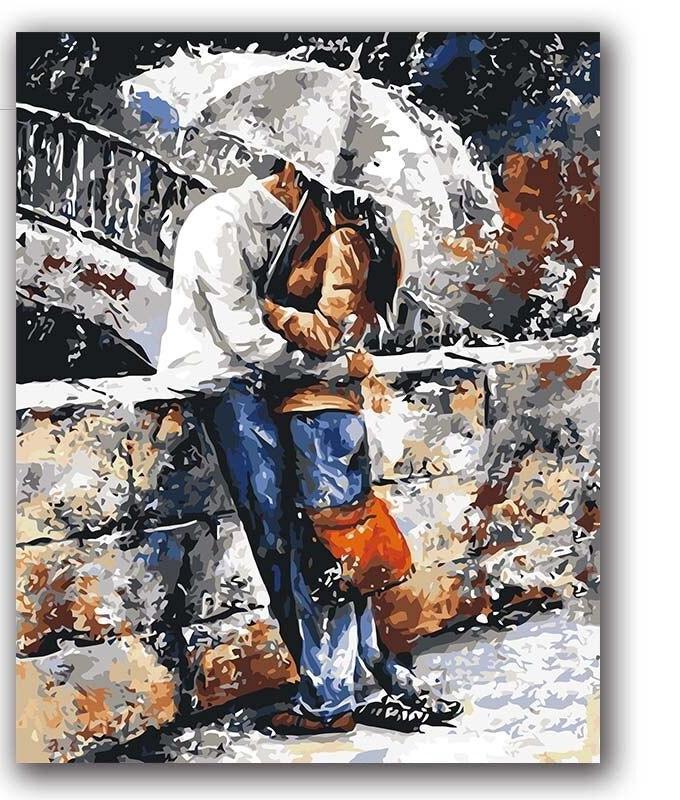 Romantic Lovers - Paint by Numbers Kits