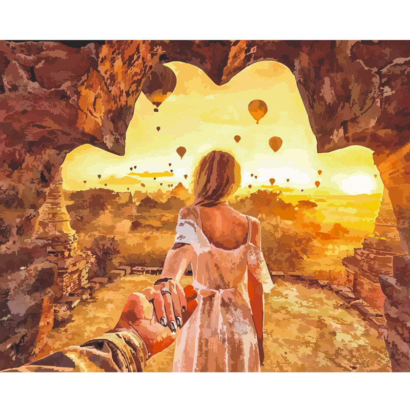 Longing For The Cave - Paint By Numbers Kit