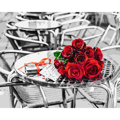 Red Roses Table
