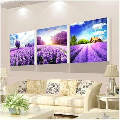Lavender Summer Art - 5d Diamond Painting Kit