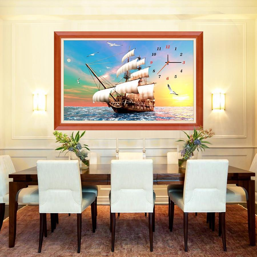 Big Sailboat - 5d Diamond Painting Kit