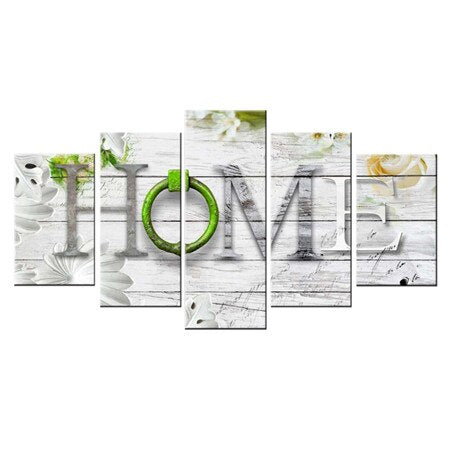 Love Home Art Sign - 5d Diamond Painting Kit