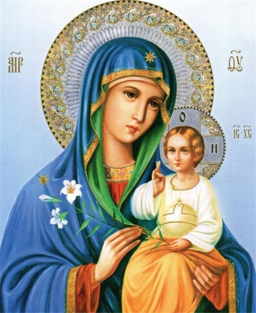 Mary and Jesus - 5d Diamond Painting Kit