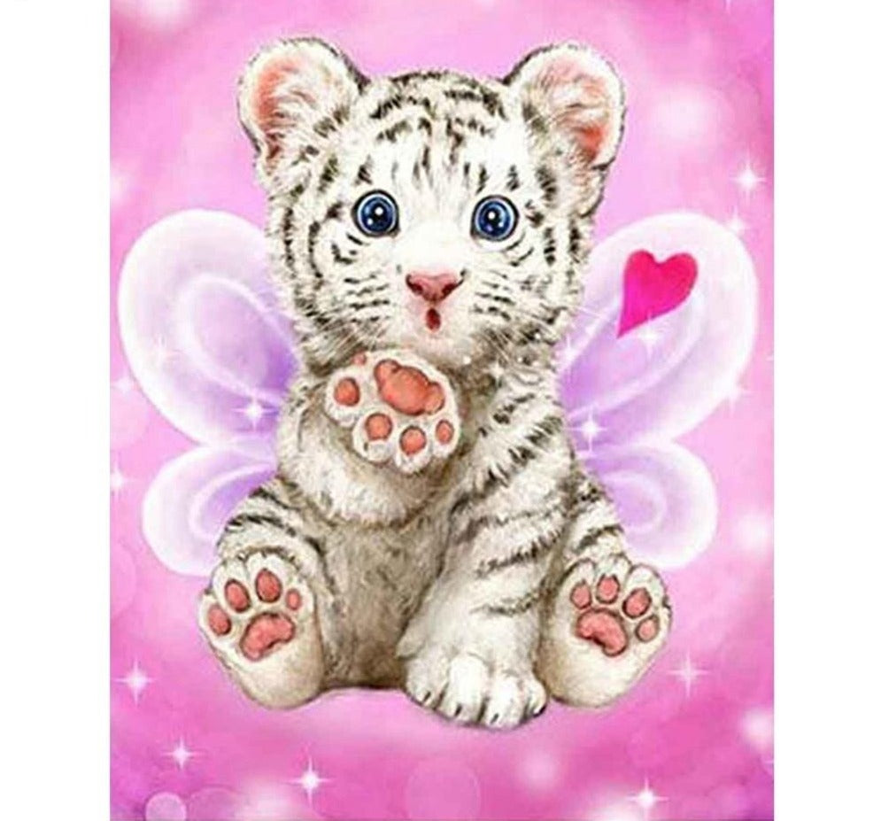 Small Tiger - 5d Diamond Painting Kit