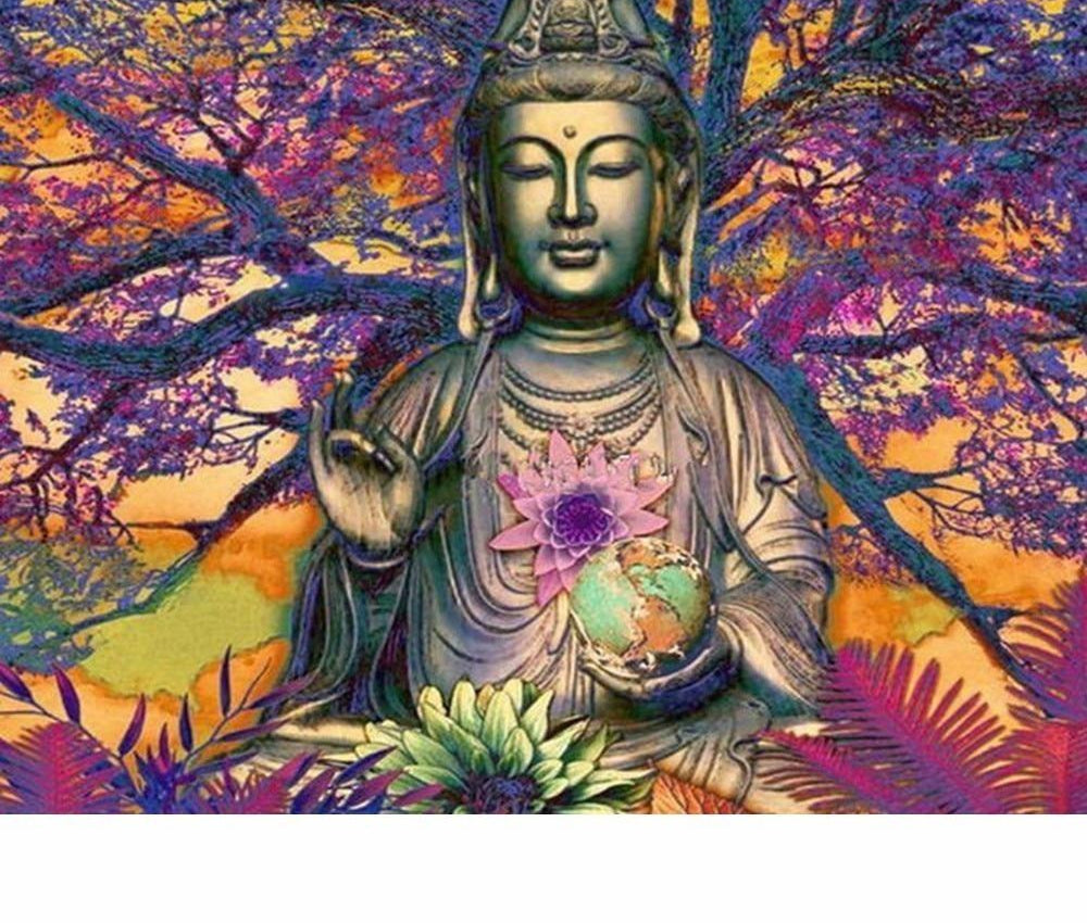 Buddha Picture - 5d Diamond Painting Kit