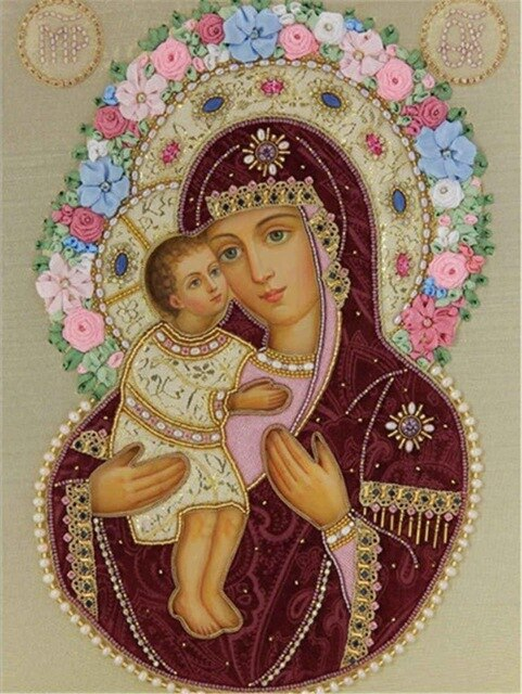 Christian Religious Illustration - 5d Diamond Painting Kit