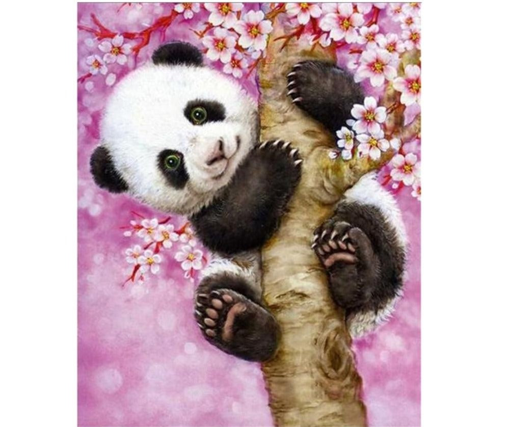 Animated Panda - 5d Diamond Painting Kit