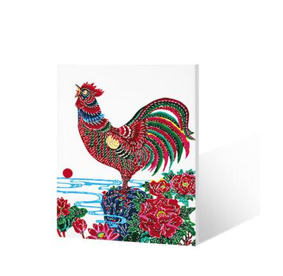 Rooster - Paint by Numbers Kits