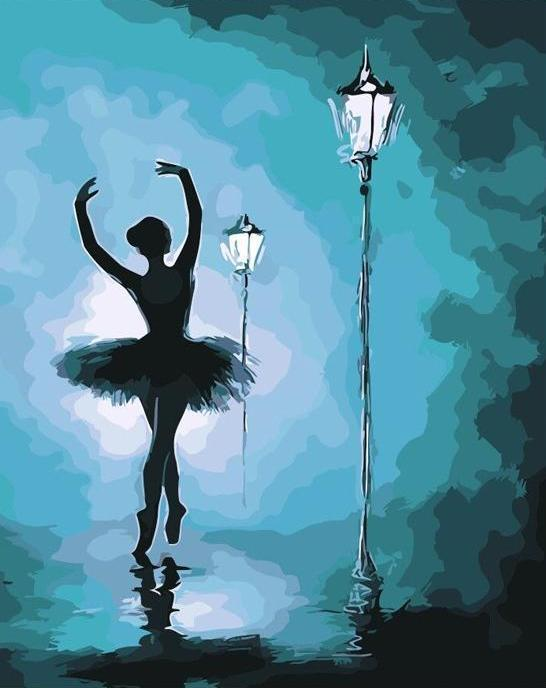 Street Light Ballet - Paint By Numbers