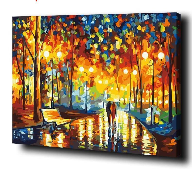 Rain Rustle by Leonid Afremov - Paint By Numbers