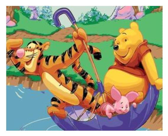 Winnie The Pooh - Paint By Numbers Kits