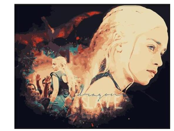 GOT Daenerys - Paint By Numbers Kits