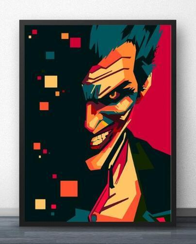 Joker Pop Art - Paint by Numbers Kits