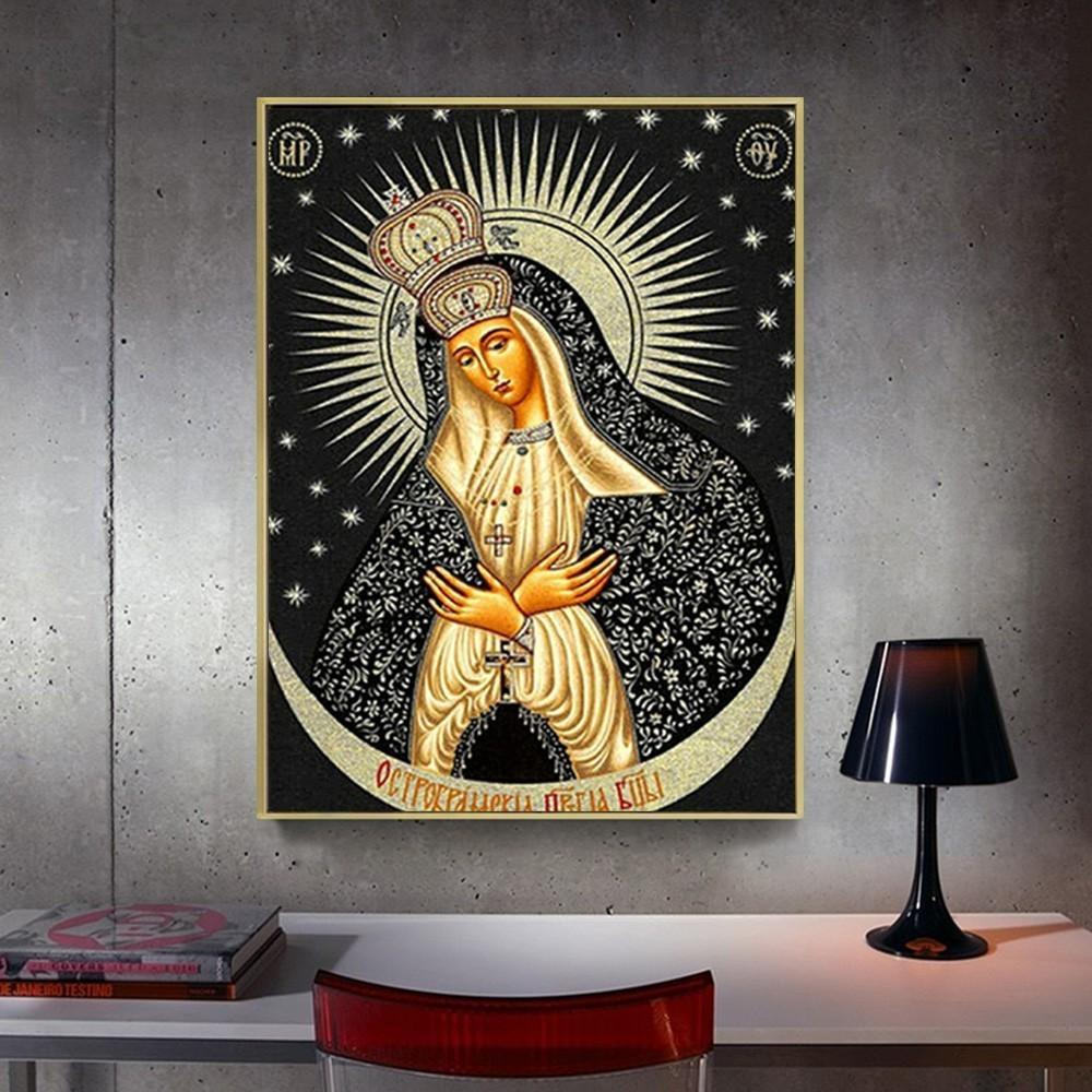 Religious Madonna Icon - 5d Diamond Painting Kit