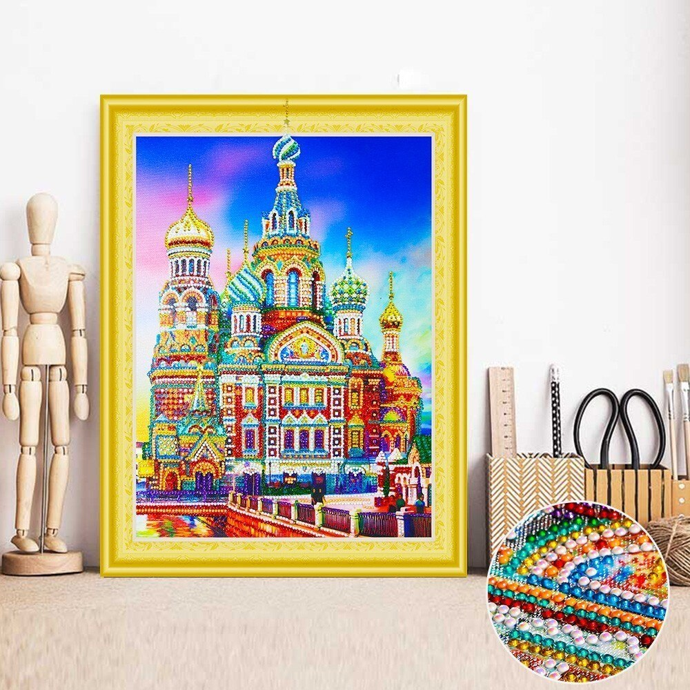 Moscow Kremlin - 5d Diamond Painting Kit