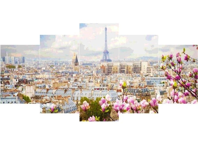 City Landscape - 5d Diamond Painting Kit