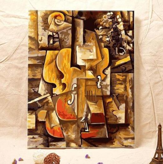 Pablo Picasso Violin - Paint by Numbers Kits for Adults