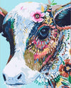 Gipsy Hipster Cow - Paint by Numbers