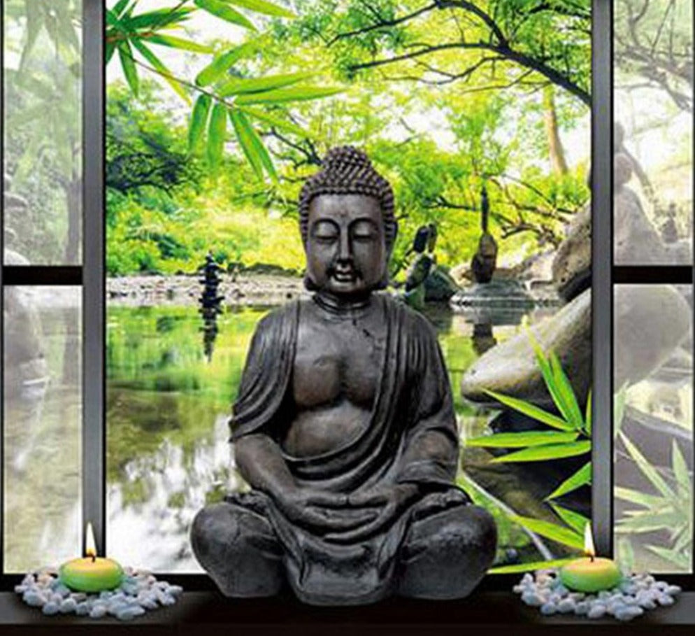 Buddha In Nature - 5d Diamond Painting Kit